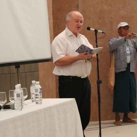 Louis de Bernières reads from his poetry
